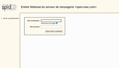 Site internet de Open Mac