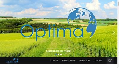Site internet de Optima