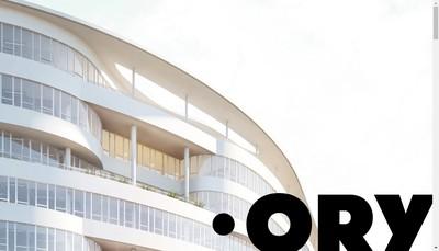 Site internet de Jj Ory & Partners SARL