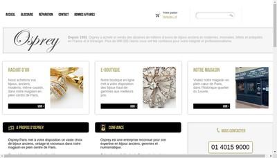Site internet de Osprey