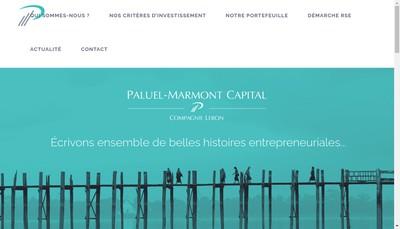 Site internet de Paluel-Marmont Valorisation