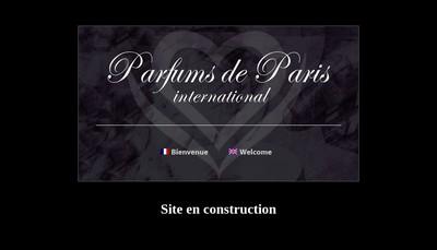 Site internet de Parfums de Paris International (Ppi)