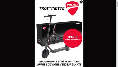 Site internet de Paris Nord Motos
