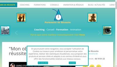 Site internet de Partenaire de Reussite