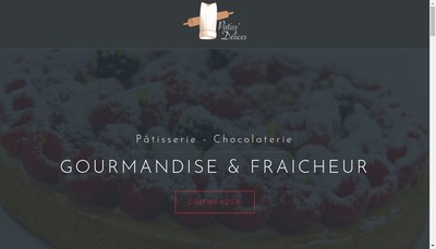 Site internet de Patiss'Delices