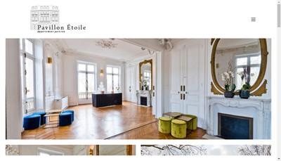Site internet de Pavillon Presbourg
