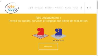 Site internet de Idee Deco