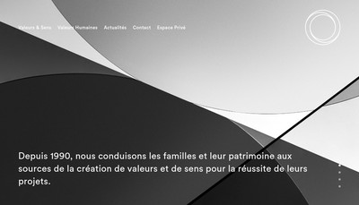 Site internet de Perspectives Gestion Privee - Perspectives Conciergerie Patrimoniale - Perspectives Olivier Collin