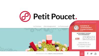 Site internet de Petit Poucet Innovation et Petit Poucet