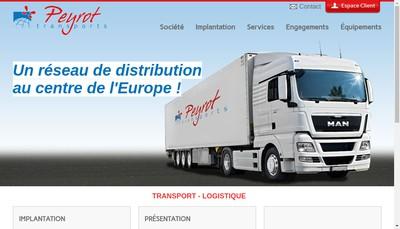 Site internet de Peyrot