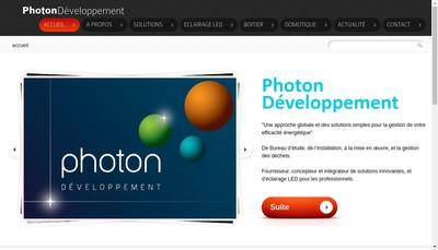 Site internet de Photon Group