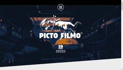 Site internet de Picto Filmo