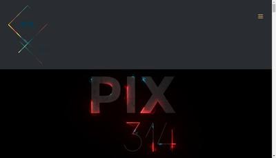 Site internet de Pix 314