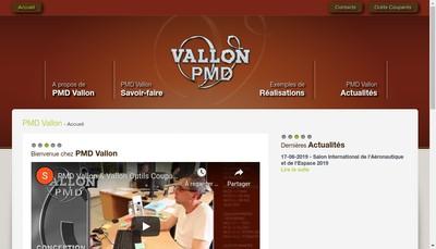 Site internet de Vallon