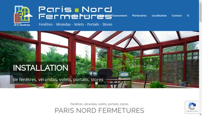 Site internet de Paris Nord Fermeture