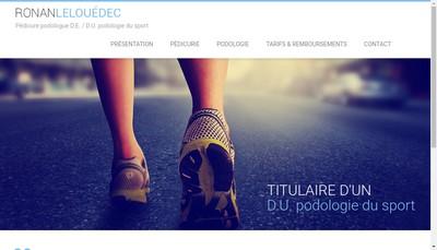 Site internet de Ronan Le Louedec
