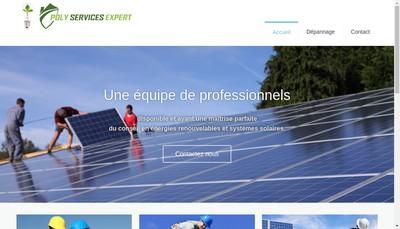Site internet de Poly Services Expert