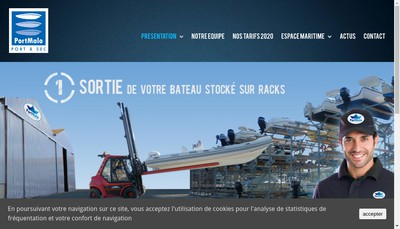 Site internet de Port Malo
