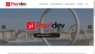 Site internet de Praxidev