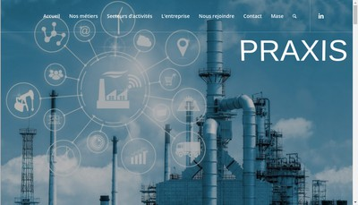 Site internet de Praxis