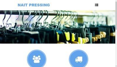 Site internet de Nait Pressing