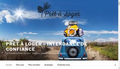 Site internet de Pret a Loger
