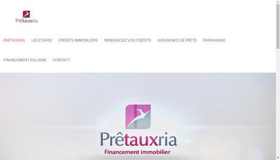 Site internet de Pretauxria