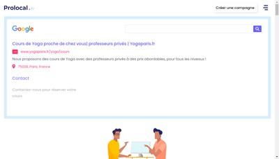 Site internet de Prolocal