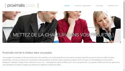 Site internet de PROXIMALIS