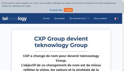 Site internet de Le Cxp