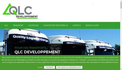 Site internet de Qlc Developpement
