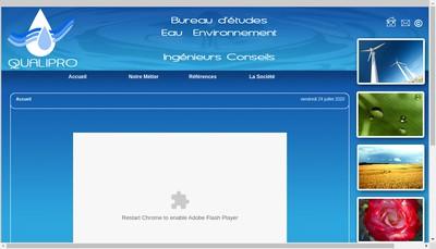 Site internet de Qualipro