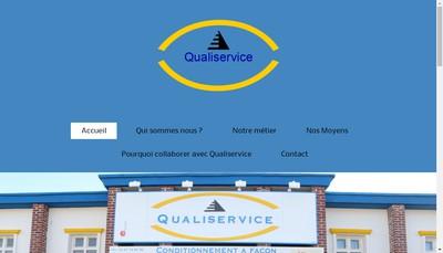 Site internet de SARL Qualiservice