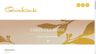 Site internet de Quintessense