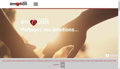 Site internet de Emotion