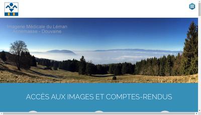 Site internet de Imagerie Medicale du Leman