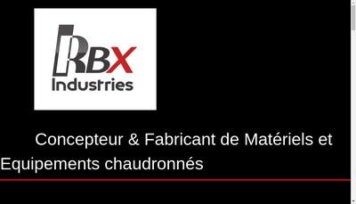 Site internet de Rbx Industries