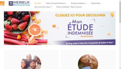 Site internet de Biofortis