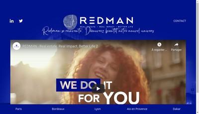 Site internet de Redman