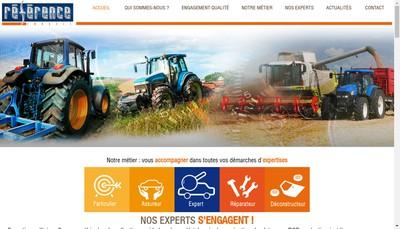 Site internet de Reference Expertise Bretagne