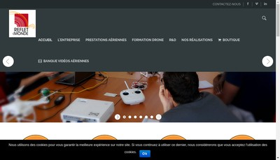 Site internet de Reflet du Monde