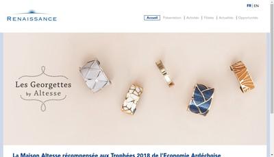 Site internet de Renaissance