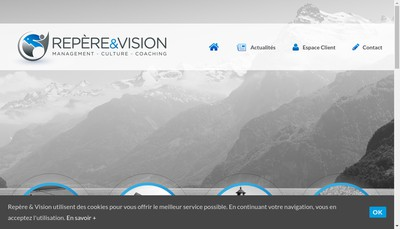 Site internet de Repere et Vision