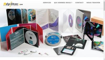 Site internet de Media Boutique