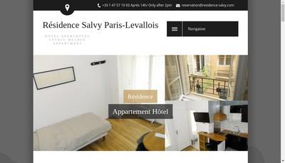 Site internet de Residence Salvy
