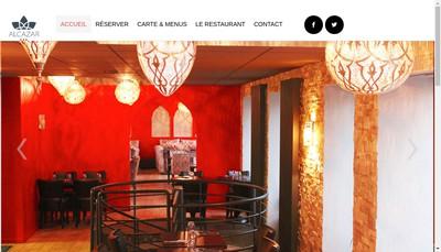 Site internet de Alcazar