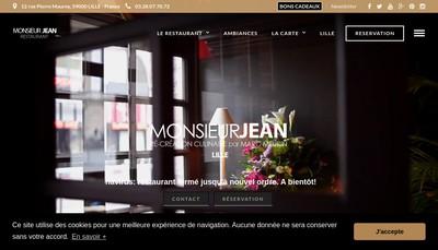 Site internet de Le Meurin Lille