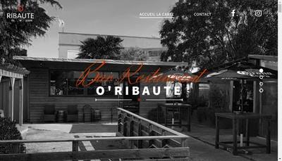 Site internet de O'Ribaute