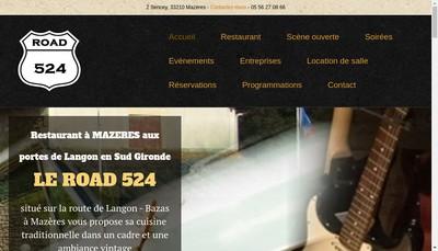 Site internet de Road 524