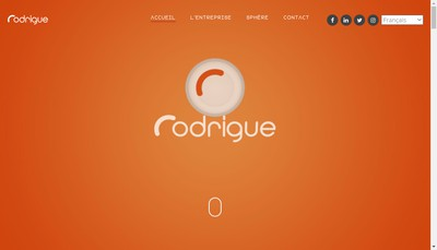 Site internet de Rodrigue